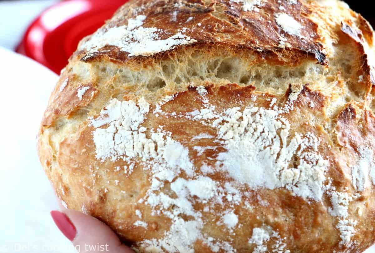 Easy Classic No-Knead Bread