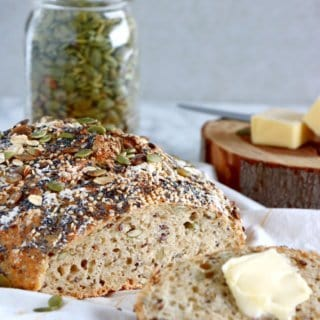 Multiseed No-Knead Bread