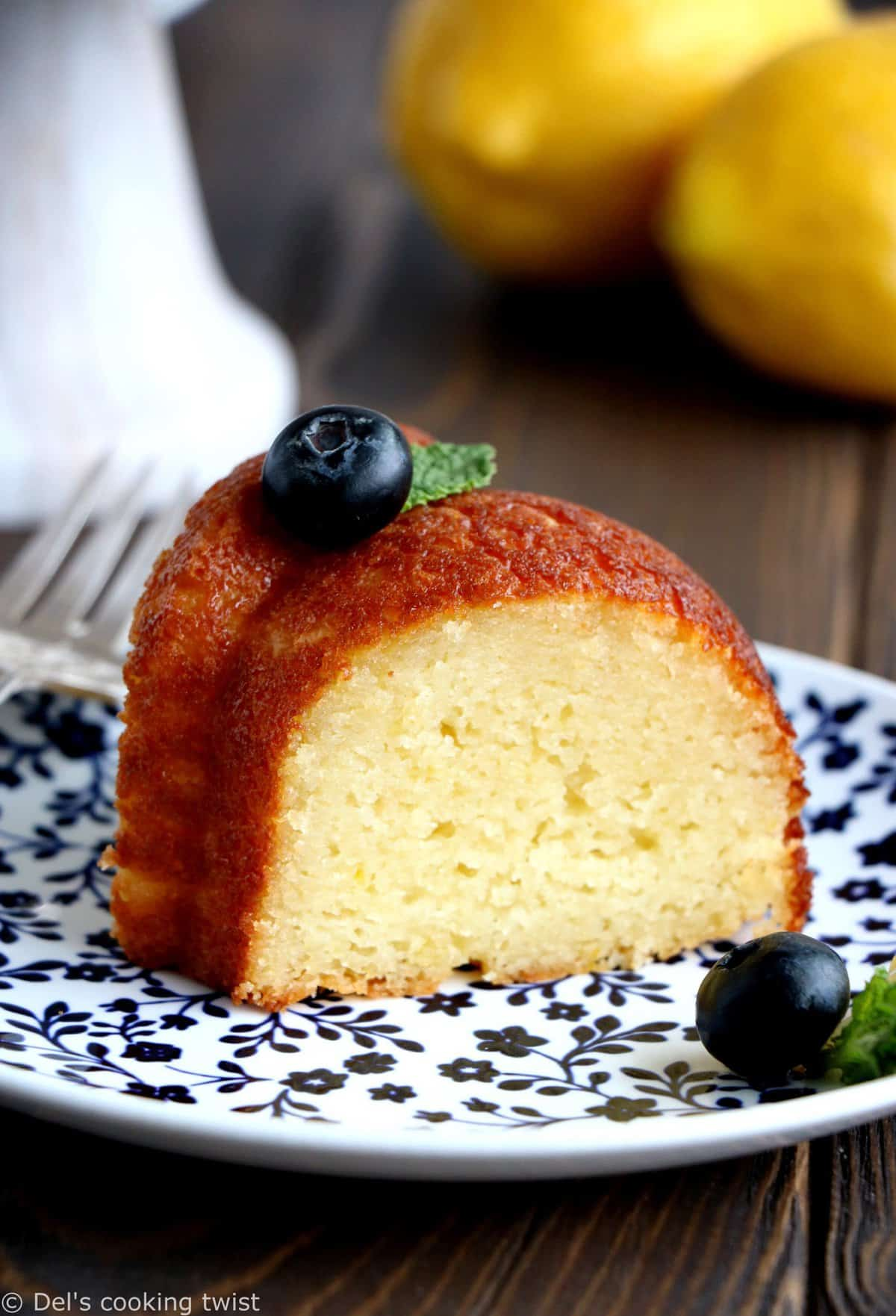 Perfect Lemon Ricotta Bundt Cake
