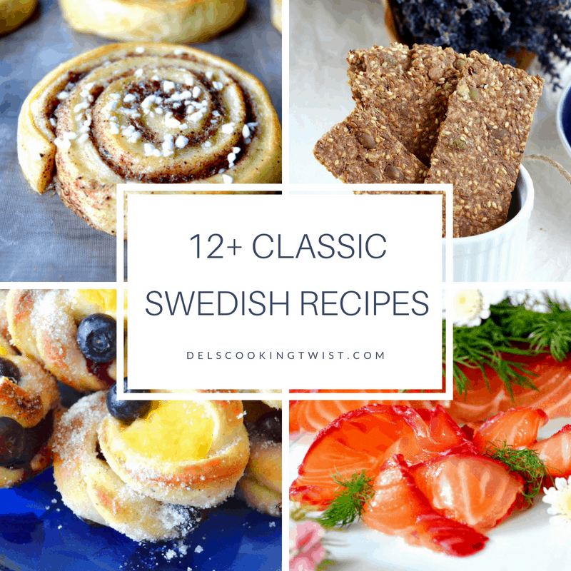 12+ Classic Swedish Recipes