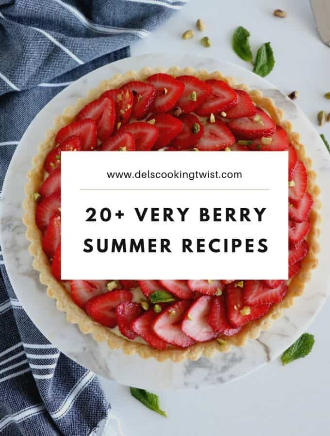 20 verry berry summer recipes
