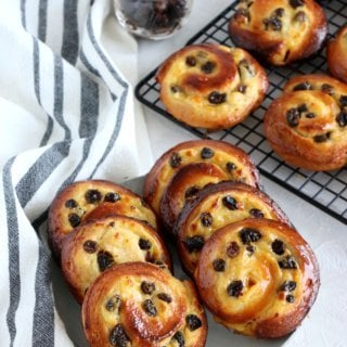 Easy French Pains aux Raisins