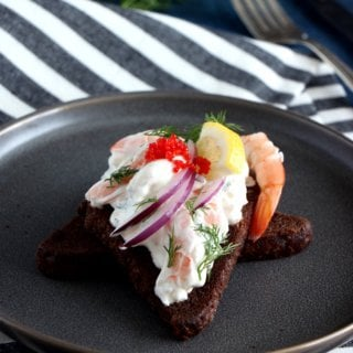 Swedish Toast Skagen 2 Ways