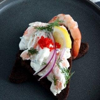 Swedish Toast Skagen 2 Ways