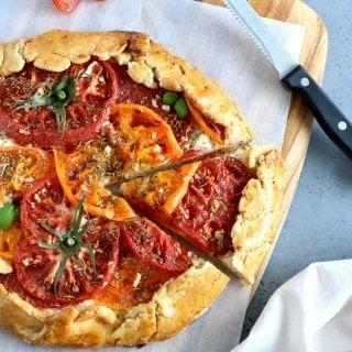 Heirloom Tomato Ricotta Galette