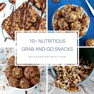 10 nutritious grab and go snacks