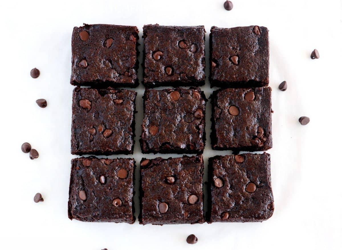 Best Ever Vegan Fudge Brownie