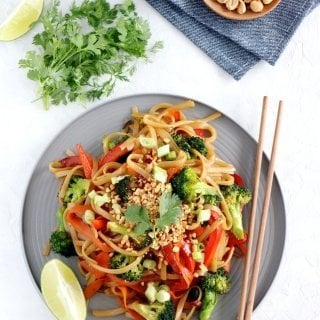 Easy Pad Thai (vegan, gluten-free)