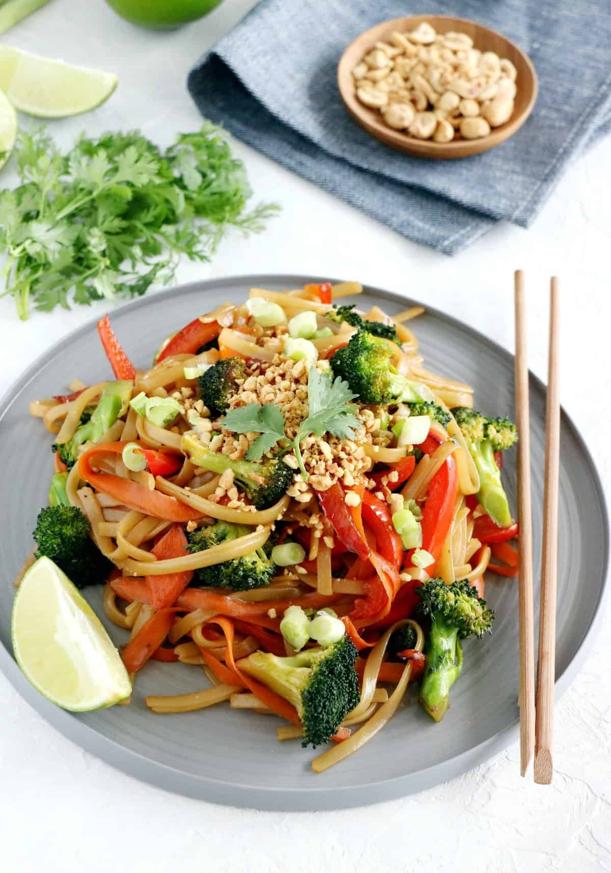 how to make vegan pad thai