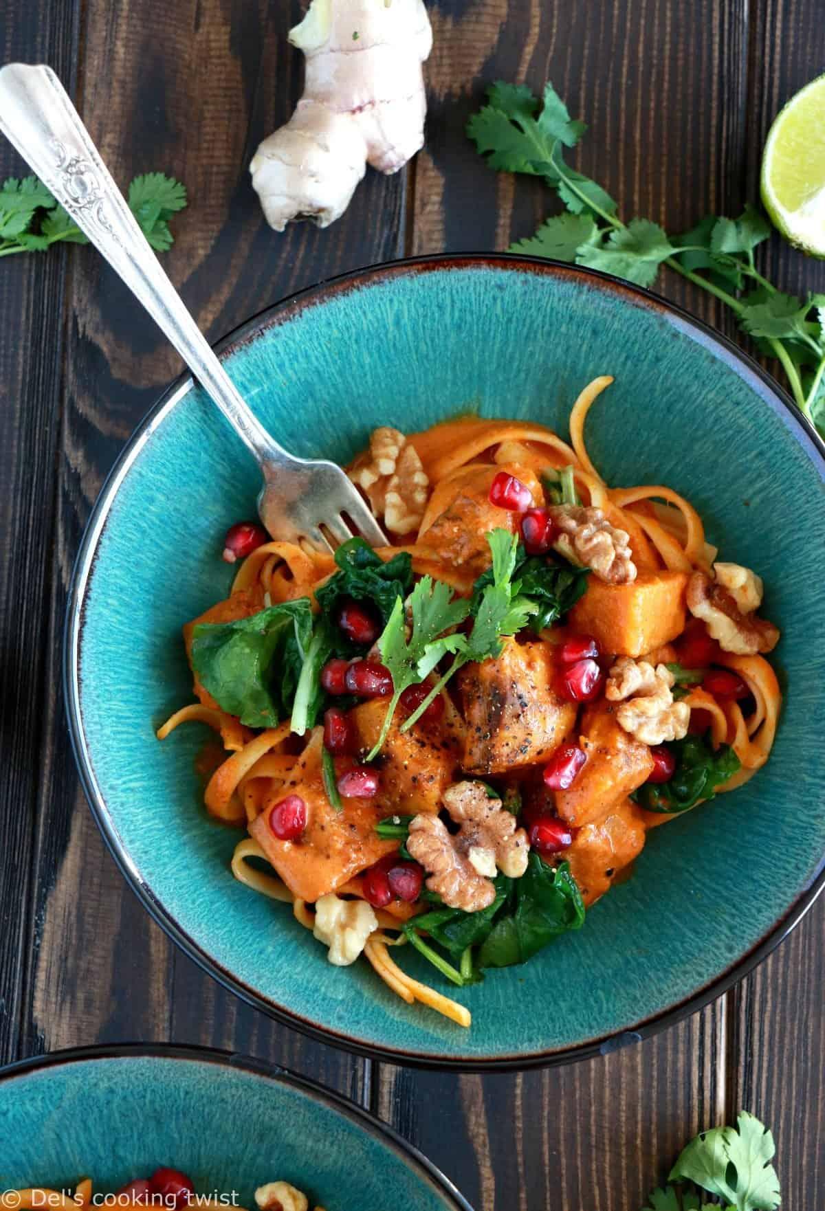 Spicy Thai Coconut Pumpkin Curry