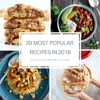 20 Most Popular Recipes in 2018