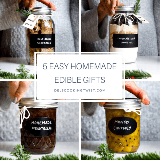5 easy homemade edible gifts