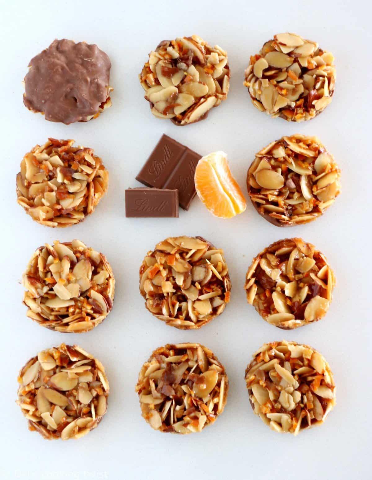 Chocolate Florentines