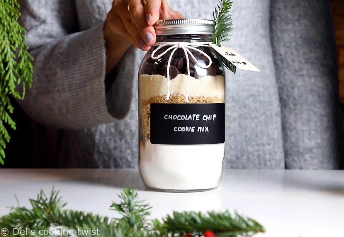 Cookie mix aux pépites de chocolat