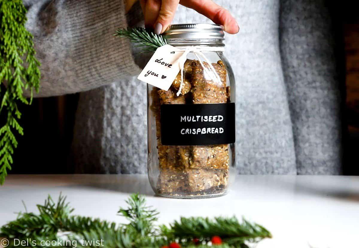 Crackers suédois aux graines