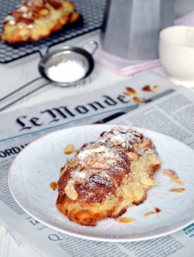 Almond Croissants (The Easy Way)