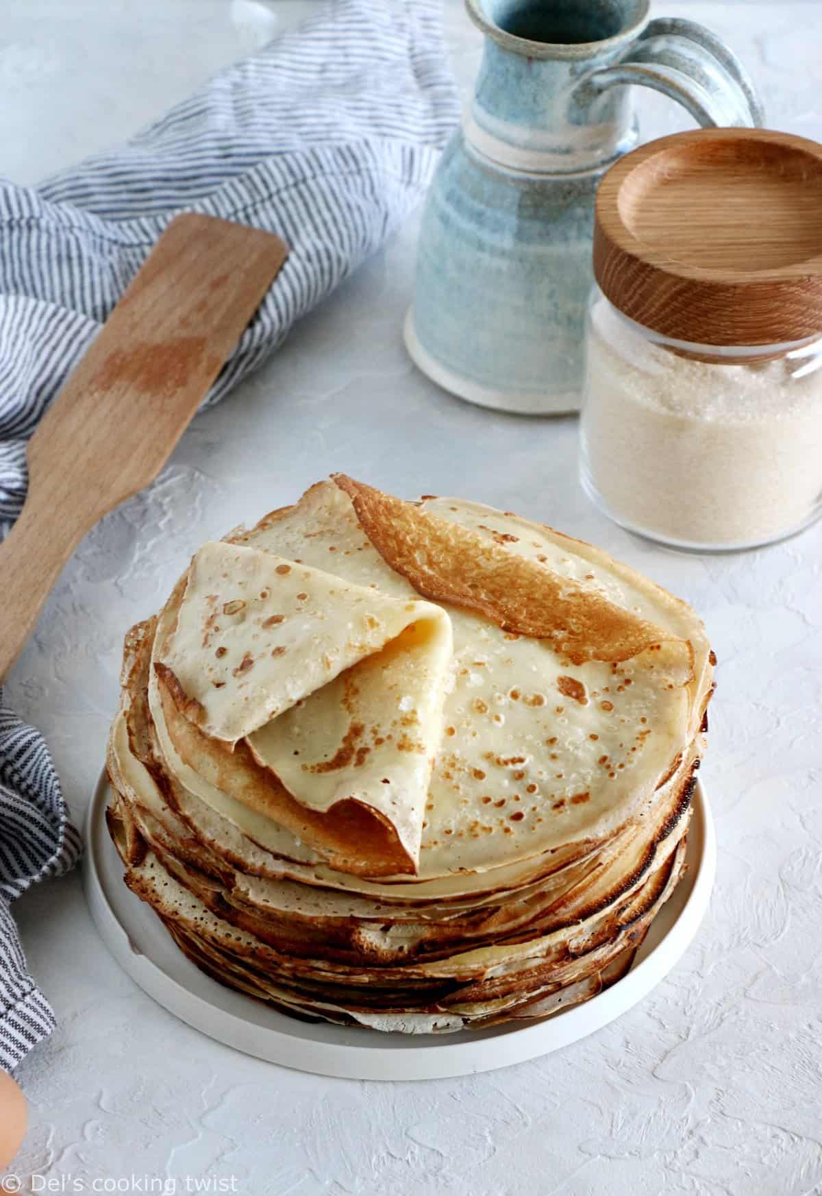 2 Classic French Crepes Recipes