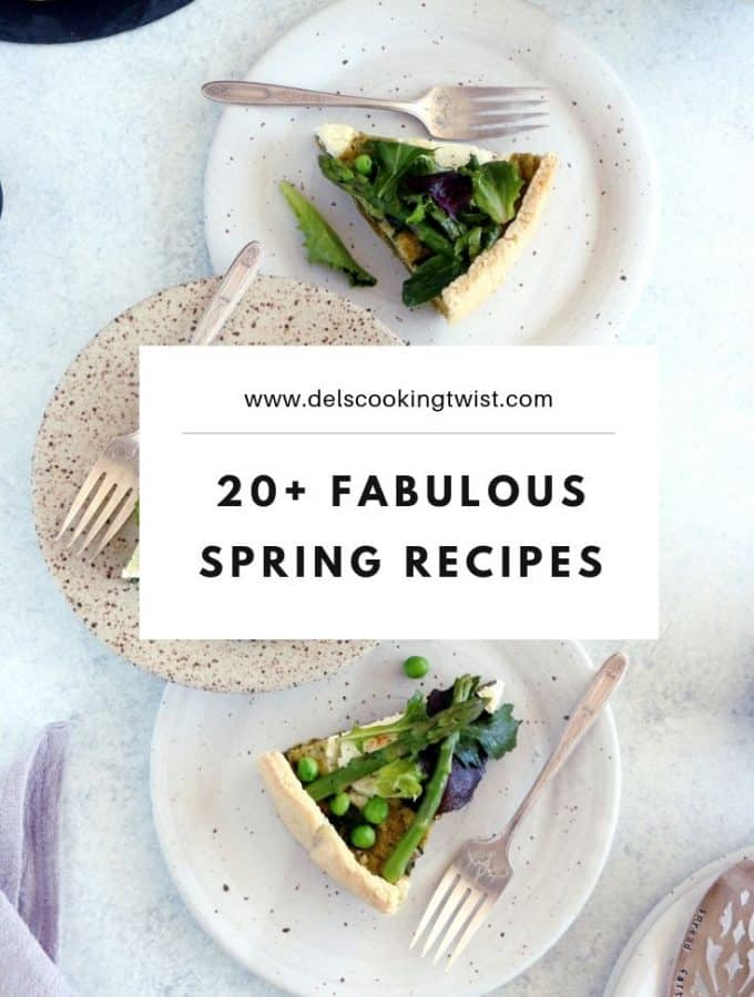 20 fabulous spring recipes
