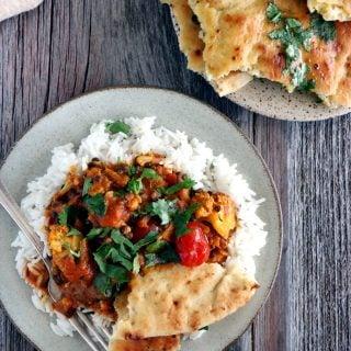 Comforting Cauliflower Lentil Curry