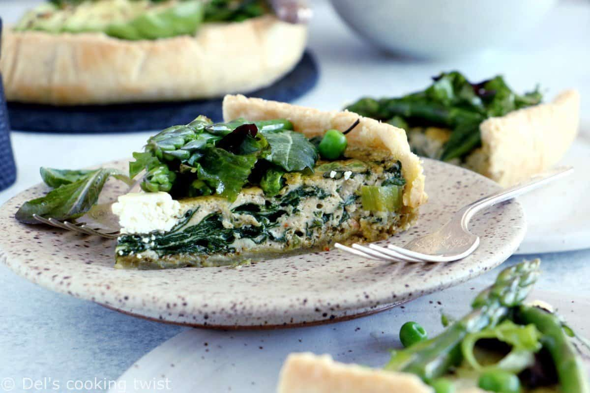 Super Green Vegetable Quiche