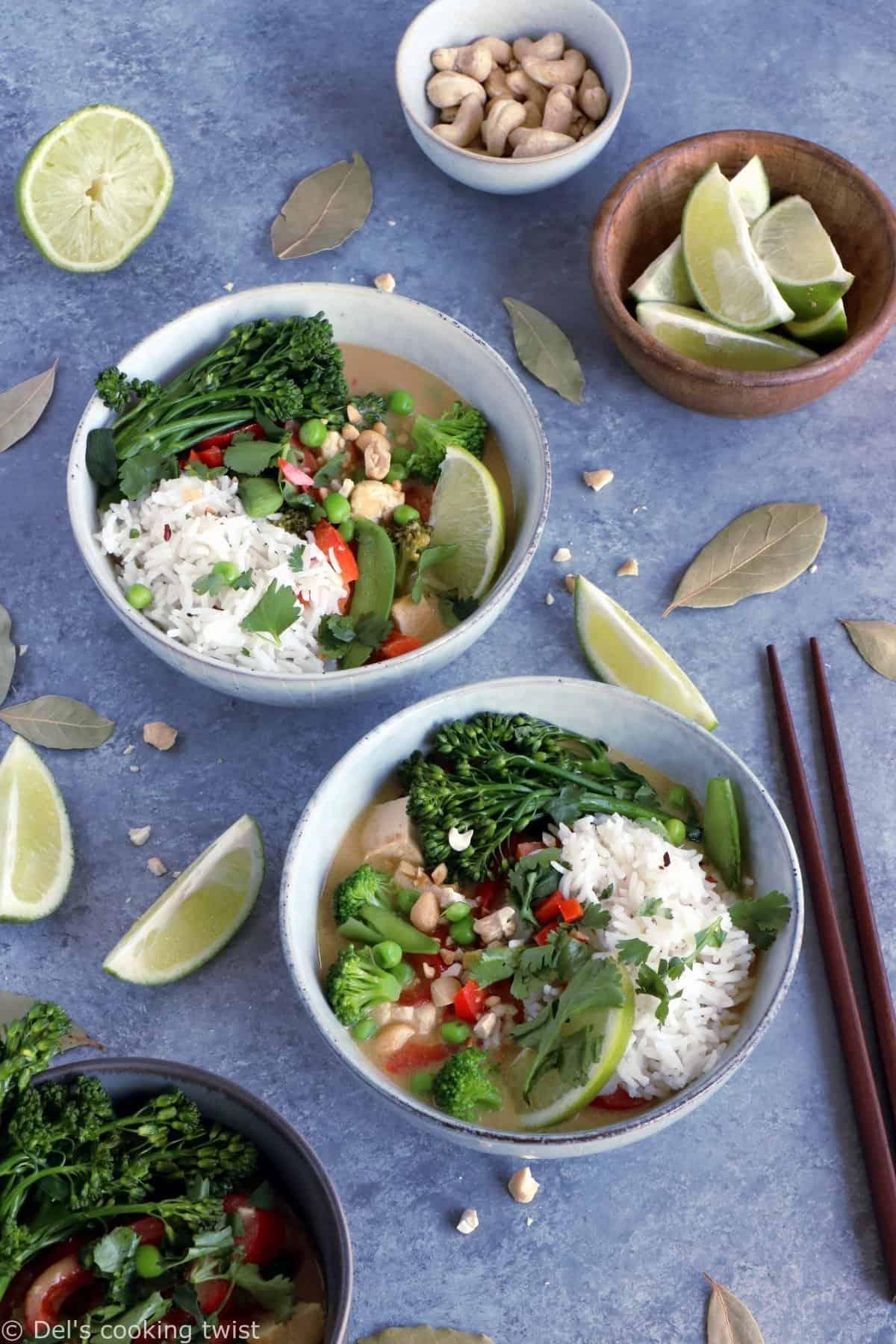 Curry vert végétalien (recette facile)