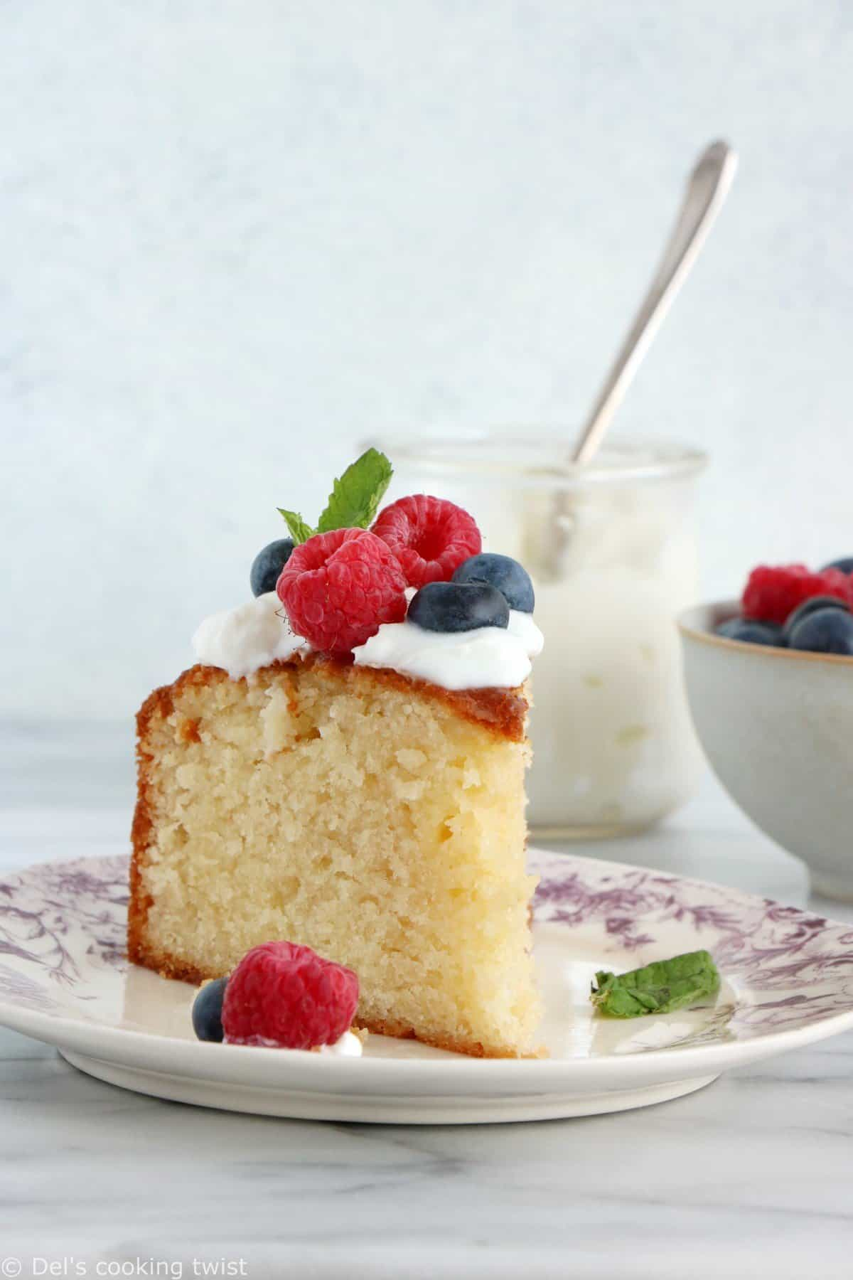 Le gâteau au yaourt de mon enfance