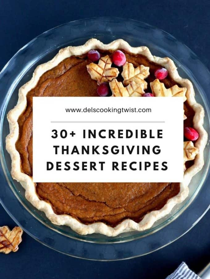 Finish your Thanksgiving feast with incredible fall dessert recipes. From the traditional pumpkin and pecan pies to some decadent cakes and other exciting cookies, there are so many options to create some happy food memories.
