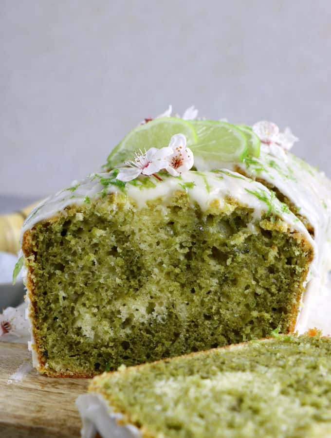 This matcha marble pound cake is the perfect addition to your afternoon tea. Made entirely dairy-free, it offers a perfect balance between sweet, earthy flavors and refreshing lime notes.